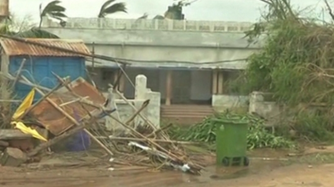 Cyclone Phailin Leaves Trail Of Destruction In India