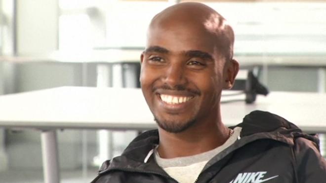 Mo Farah Talks Marathons And Racing Usain Bolt