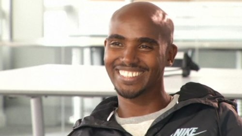 Mo Farah Talks Marathons And Racing Usain Bolt