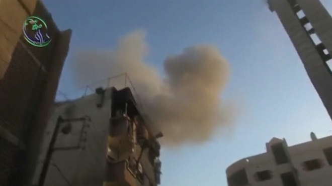 Air Strikes Hit Damascus Suburb Of Daraya