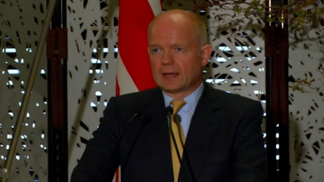 Hague Urges Iran To Seize Opportunity In Nuclear Talks