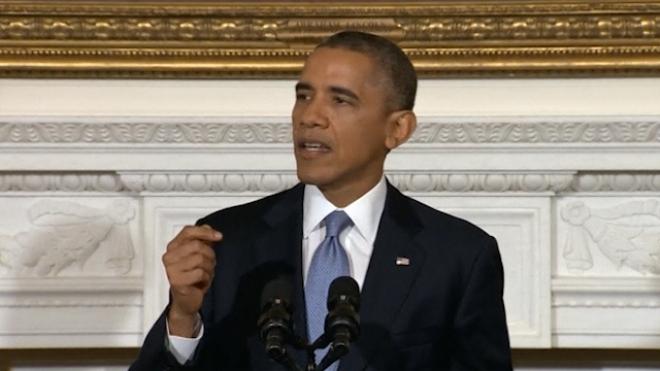 Obama Scolds Politicians For Government Shutdown