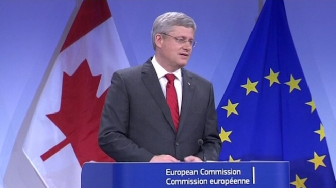 EU Strikes Trade Deal With Canada, Looks To U.S