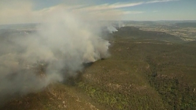 Worst Bushfires In Decades Threaten New South Wales