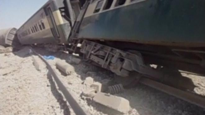 At Least Five Killed In Pakistan Train Bombing