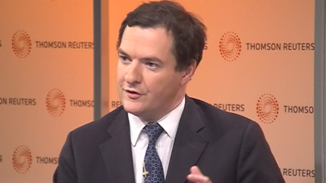 Osborne Says Growth Alone Wont Fix British Deficit