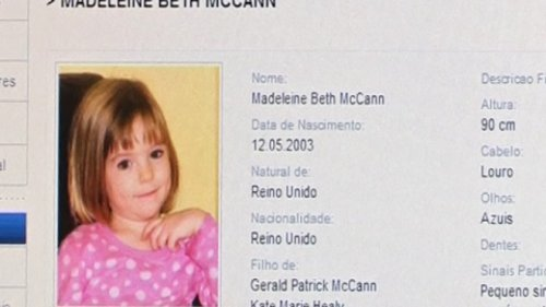 Portugal Reopens Case Madeleine McCann Case