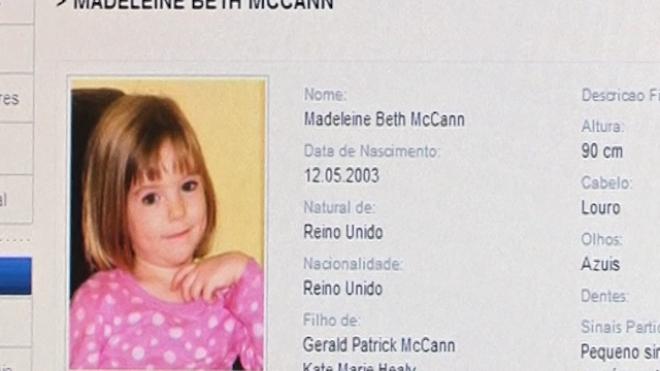 Portugal Reopens Case Madeleine McCann Case