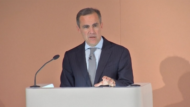 BoE Governor Carney Strikes New, Softer Tone On Banks