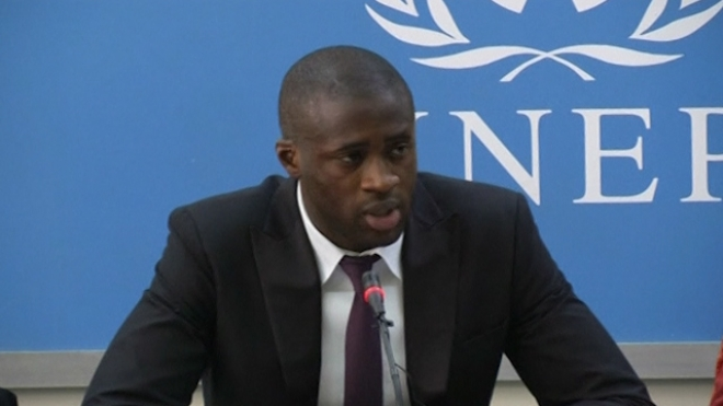 Yaya Toure Launches UN Anti-Poaching Initiative