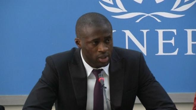 Yaya Toure Launches UN Anti-Poaching Initiative