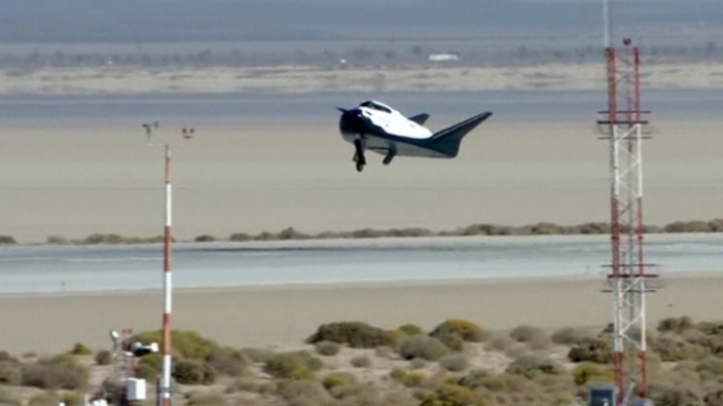 U.S. Dream Chaser Space Taxi Soars On Test Flight