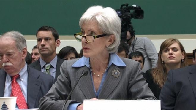 U.S. Health Secretary Takes Blame For Obamacare Web Woes