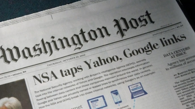 NSA Intercepts Google And Yahoo Traffic Overseas