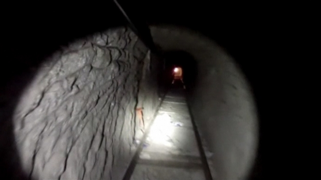 US-Mexico Drug-Smuggling Rail Tunnel Closed