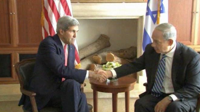 Kerry Starts New Round Of Israel-Palestine Peace Talks