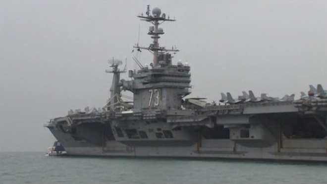 US Aircraft Carrier To Support Philippines Relief Efforts