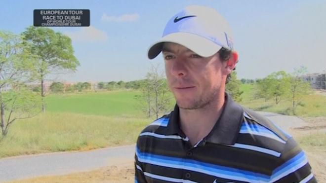 McIlroy Upbeat Ahead Of The European Tour In Dubai