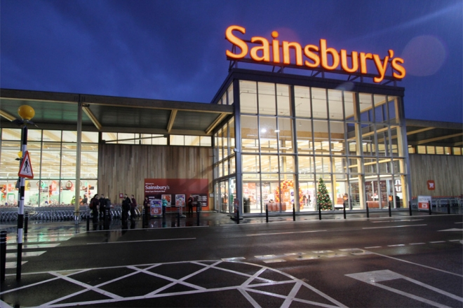 Sainsbury's Christmas Sales Boosted by Luxury Food Range but Growth Slows