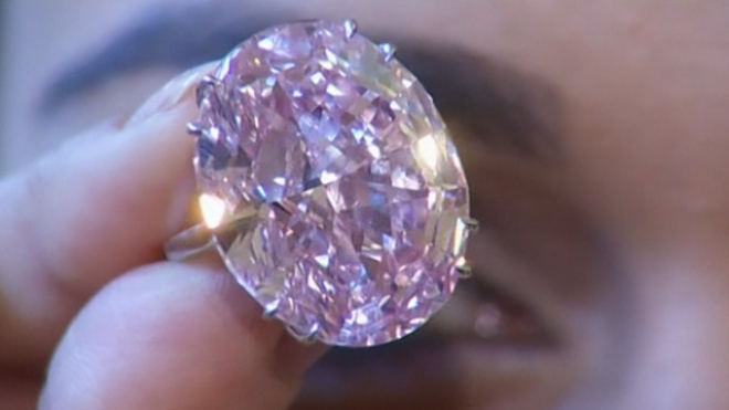 Pink Star Diamond Sells For Record $83M At Sothebys