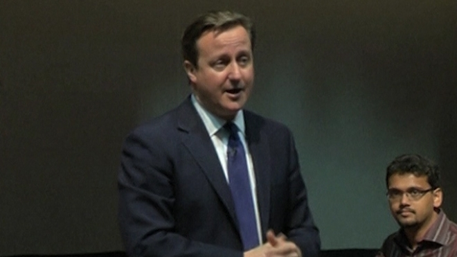 Cameron Calls For Tougher Stand On Human Rights Issues