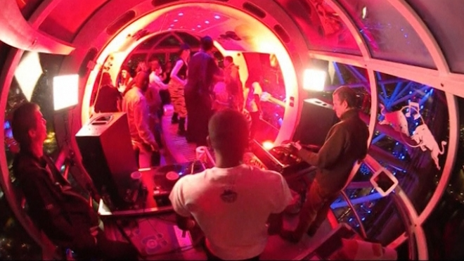 DJs And Singers Take Over London Eye