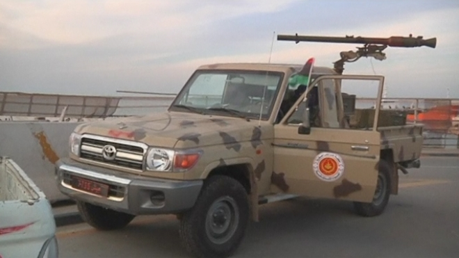 Libyan Army Maintains Calm On Tripoli Streets
