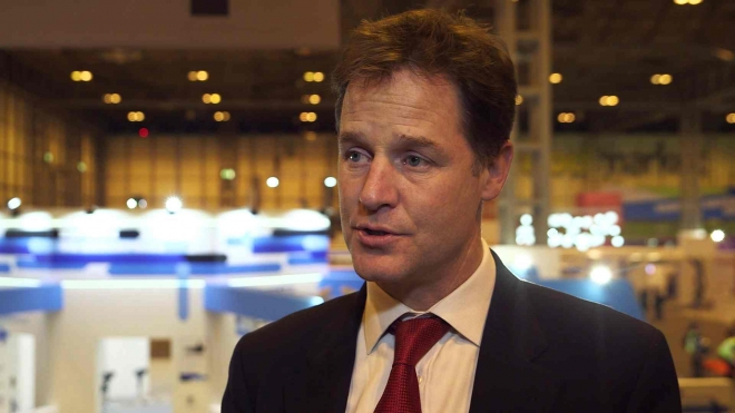 Nick Clegg Praises Value of Vocational Qualifications at The Skills Show