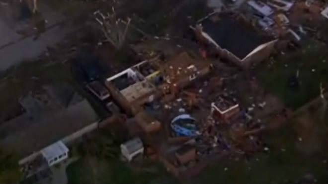 Six Killed As Tornadoes Rip Though Midwest U.S.