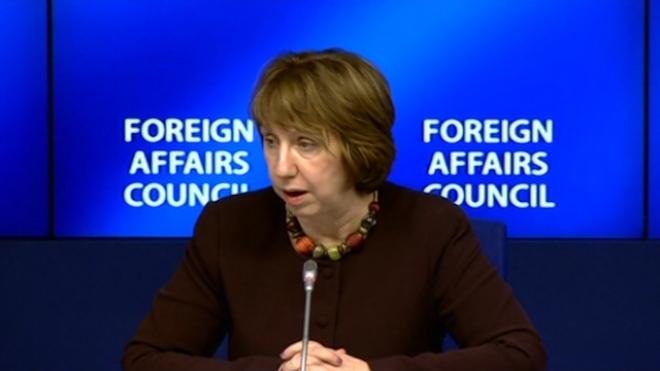 EUs Ashton Expresses Hope Over Ukraine Deal