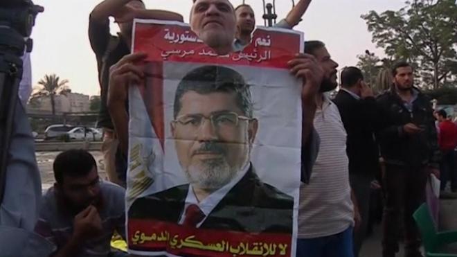 Pro-Morsi Protesters Rally In Cairo