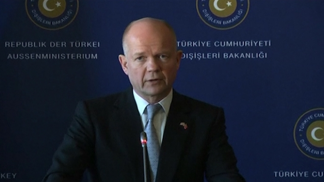 Britains Hague Says Iran Nuclear Deal Possible