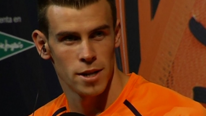 Gareth Bale Says Hes Enjoying Madrid