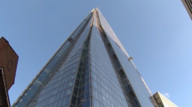 Queen Rises Above It All With Visit To London's Shard