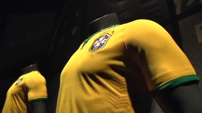 Brazil Presents World Cup Jerseys