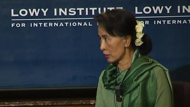 Aung San Suu Kyi Seeks Constitutional Changes