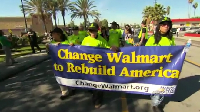 Walmart Store Workers Promise Nationwide Pickets