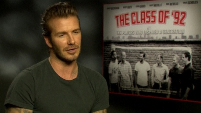 Beckham: Time With Class Of 92 Happiest Of His Career