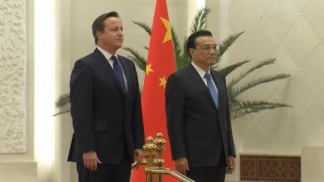 Cameron in Beijing to Champion EU-China Trade Pact