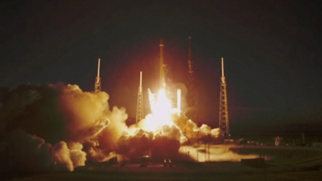 SpaceX First Commercial Satellite Launches