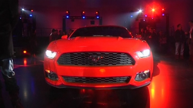 Ford Unveils its New Mustang Worldwide