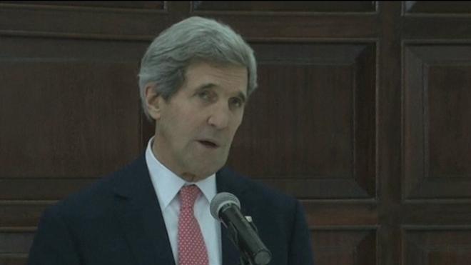 Kerry Says Progress Made In Peace Talks