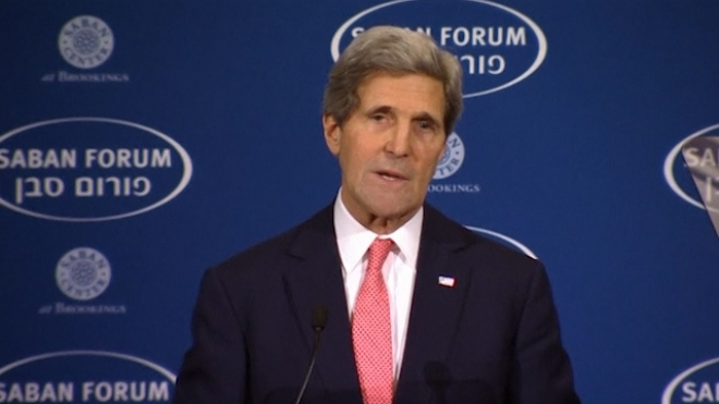 Kerry Advocates Merits Of Diplomacy In Middle East Peace