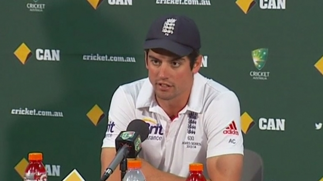 Cook Reacts Following England's Second Test Loss