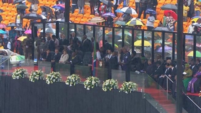 Religious Leaders Lead Prayers At Mandela Memorial Service