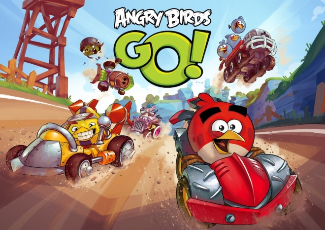 Angry Birds Go! For Windows Phone Now Enhanced to Feature Multiplayer Mode and new Features, Available for Download