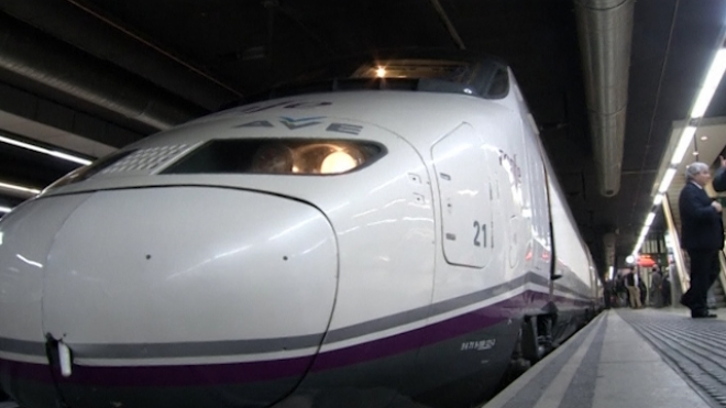 High-Speed Train Connects Barcelona with Paris