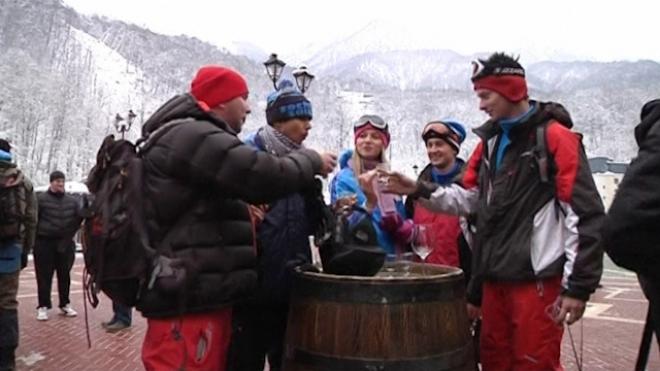 Winter Sports Season Kicks Off at Sochi Olympic Venue