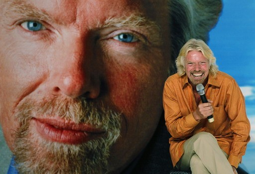 Branson unveils neRichard Branson