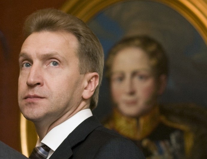Russia's First Deputy Prime Minister Igor Shuvalov attends the Eurasian Economic Community session in Moscow's Kremlin